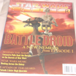 Star Wars Insider Magazine issue 40 dawn of the battle droid behind the magic